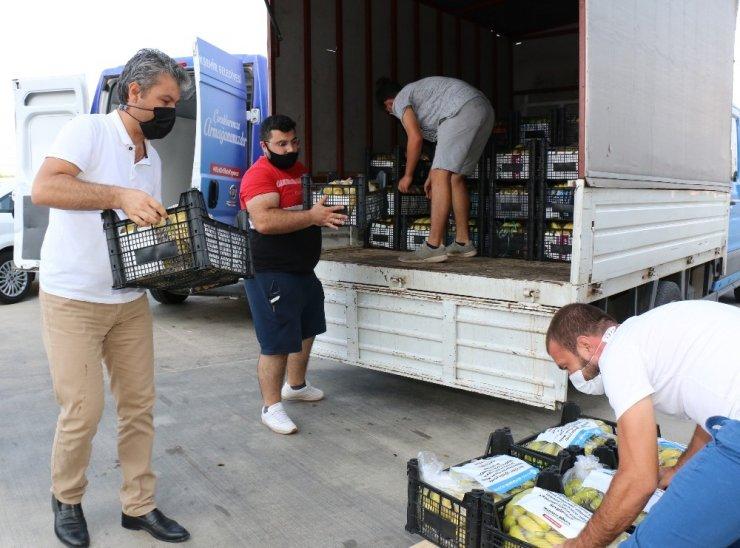 Antalya 'dan 81 ilde 81 okula muz