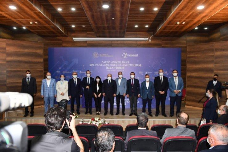 Bismil Özel Eğitim Mesleki Eğitim Merkezi projesi Bakan Varank himayesinde imzalandı