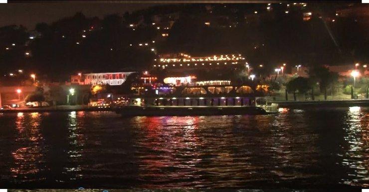 İstanbul Boğazındaki teknelerde korona denetimleri sürüyor