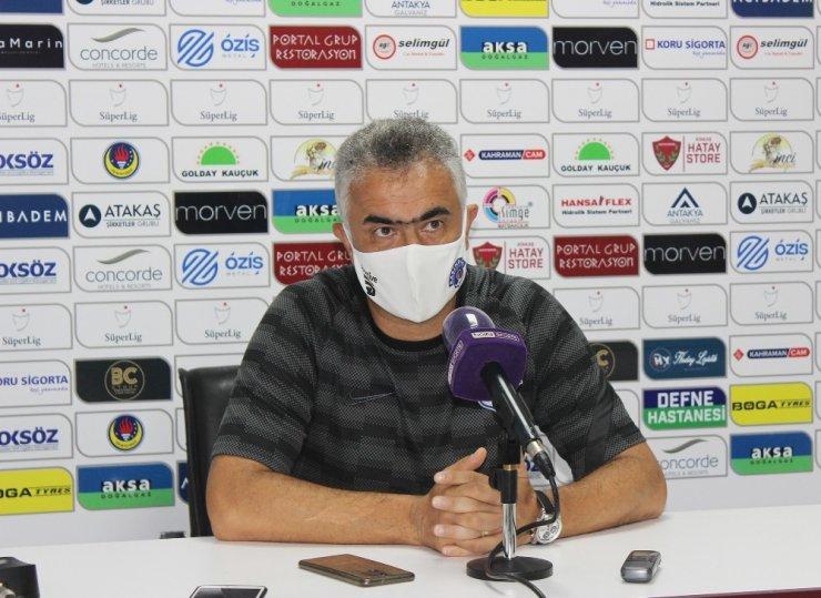 Atakaş Hatayspor - Kasımpaşa maçının ardından