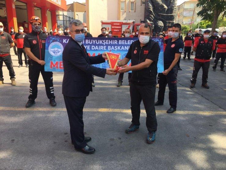 """Başkan Kızılkan: """"256 personel ve 53 araçla vatandaşın hizmetindeyiz"""""""