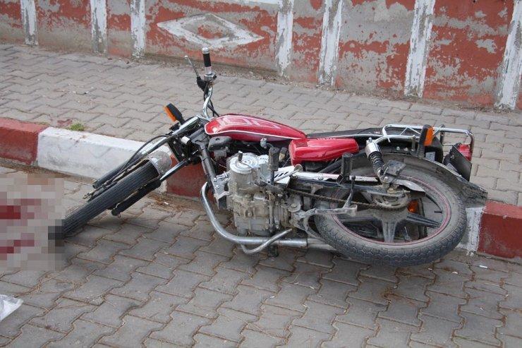 Kula'da motosiklet kazası: 1 ağır yaralı