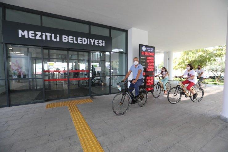 Bisiklet çekilişinde kazananlar belli oldu