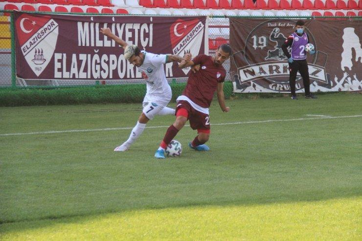2. Lig: Elazığspor: 1 - Serik Belediyespor: 1