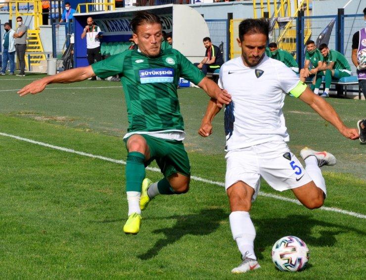 TFF 2. Lig: Karacabey Belediyespor: 1 - 1922 Konyaspor: 0
