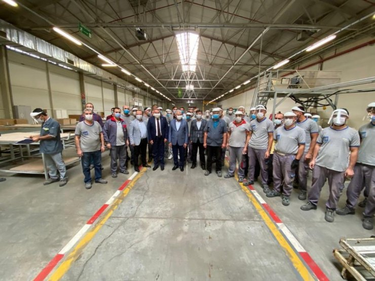 Yıldırım'dan Erciyes Anadolu Holding'e ziyaret