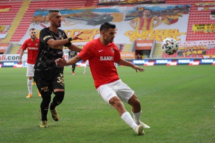 Süper Lig: Göztepe: 0 - Gaziantep FK: 1 (İlk yarı)