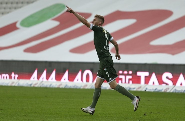 TFF 1. Lig: Bursaspor: 1 - Giresunspor: 1 (İlk yarı sonucu)