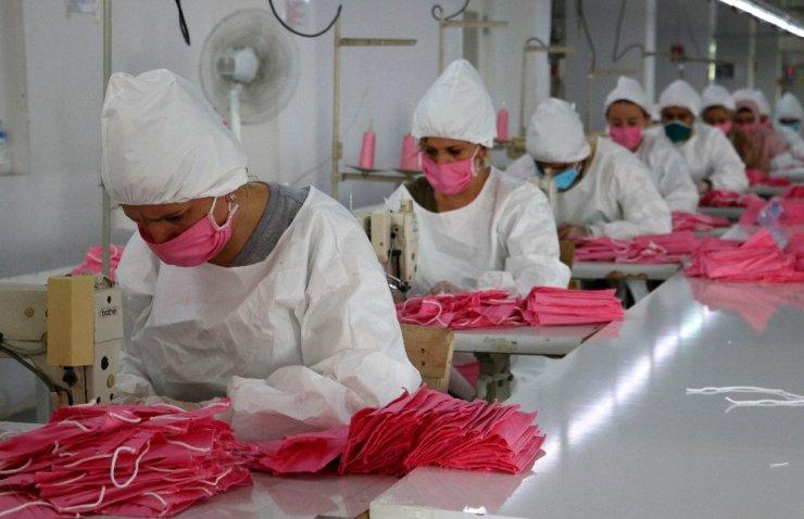 Korona virüsü öldüren maskede seri üretime geçildi