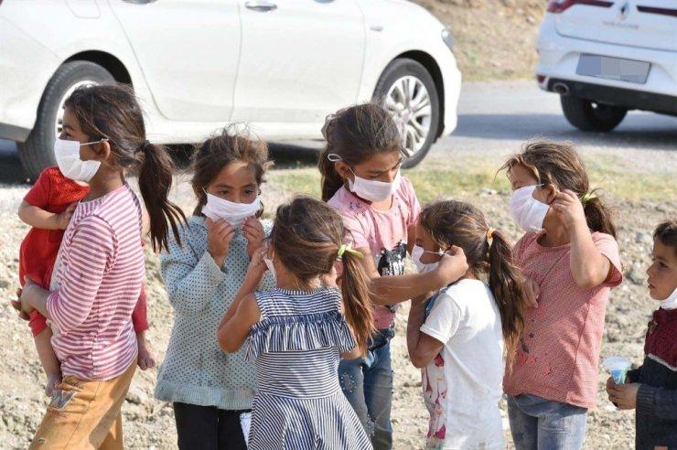 Ankara Büyükşehir Belediyesinden mevsimlik işçilere hijyen desteği