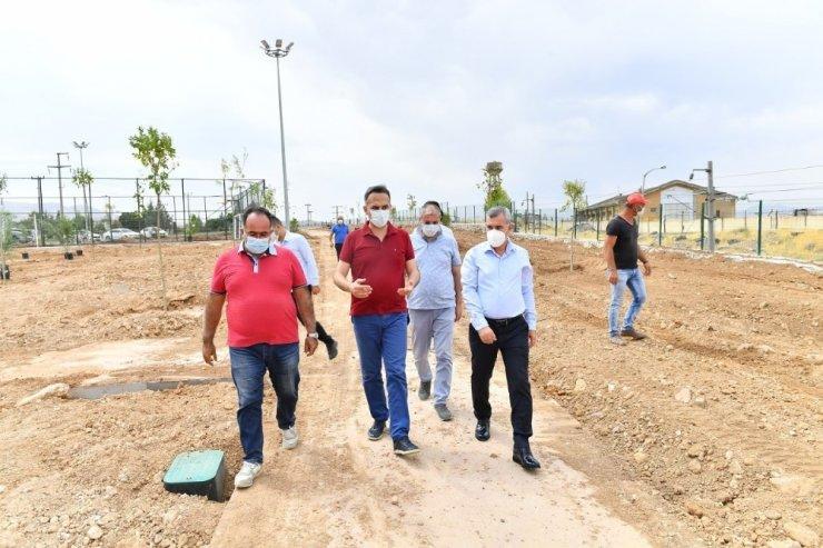 Başkan Çınar, Beylerderesi'ndeki çalışmaları inceledi