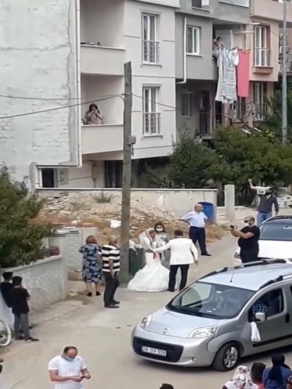 Düğünde maganda dehşeti