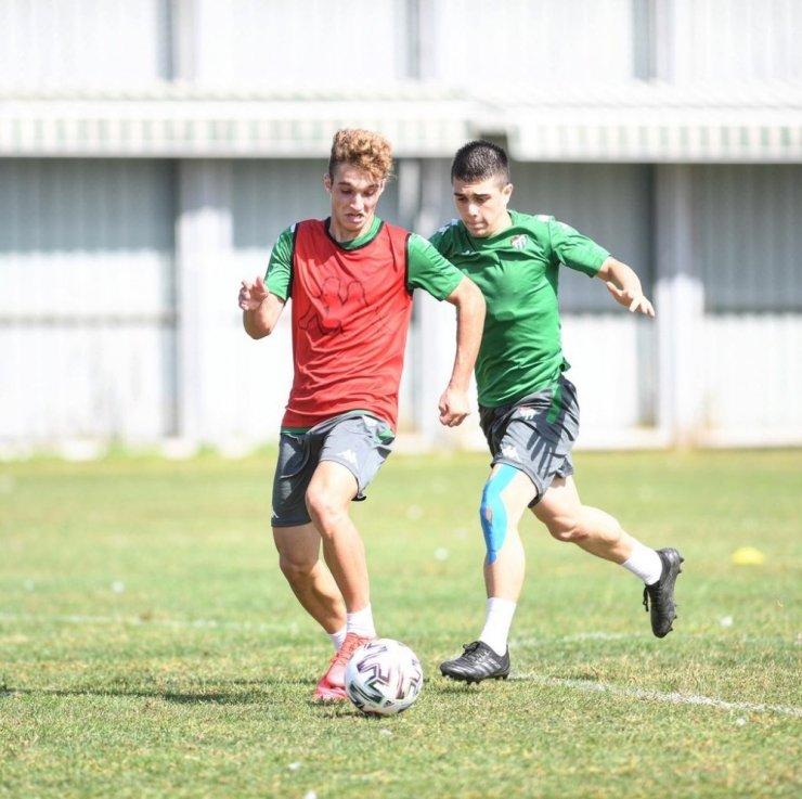Bursaspor, Tuzlaspor maçı hazırlıklarına başladı