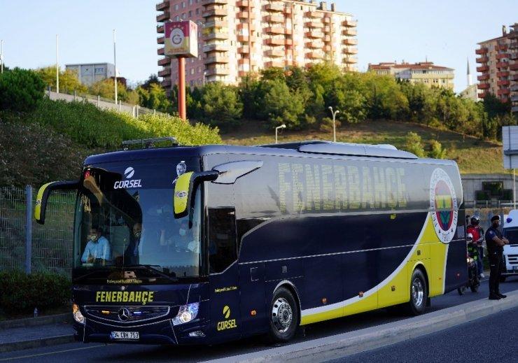 Fenerbahçe, Türk Telekom Stadyumu'na geldi