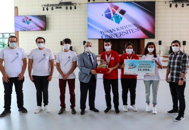TEKNOFEST'te İnsanlık Yararına Teknoloji Kategorisinde HKÜ ekibi birinci oldu