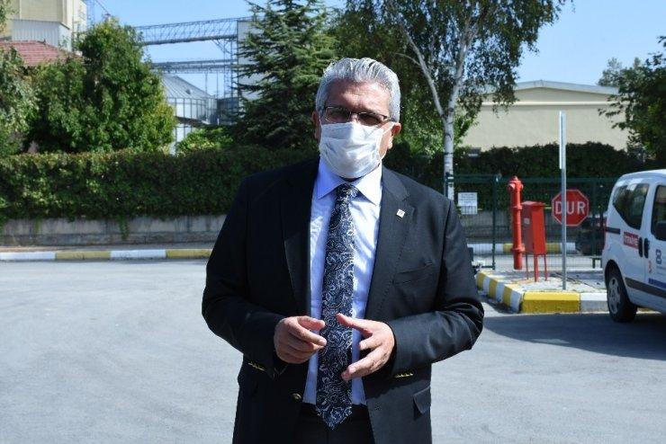 Eskişehir OSB Başkanı Küpeli'den EOSB İtfaiye birimine ziyaret
