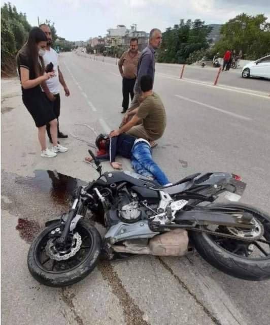 Motosiklet kazasında yaralanan sürücü kurtarılamadı
