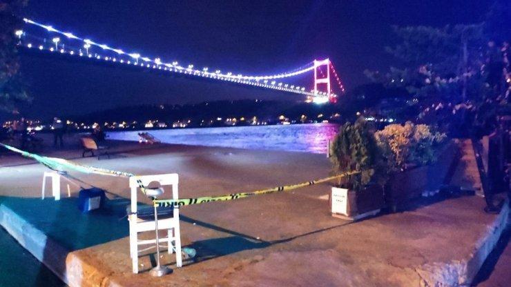 Rumeli Hisarı sahilinde iki grup arasında silahlı kavga: 1 yaralı