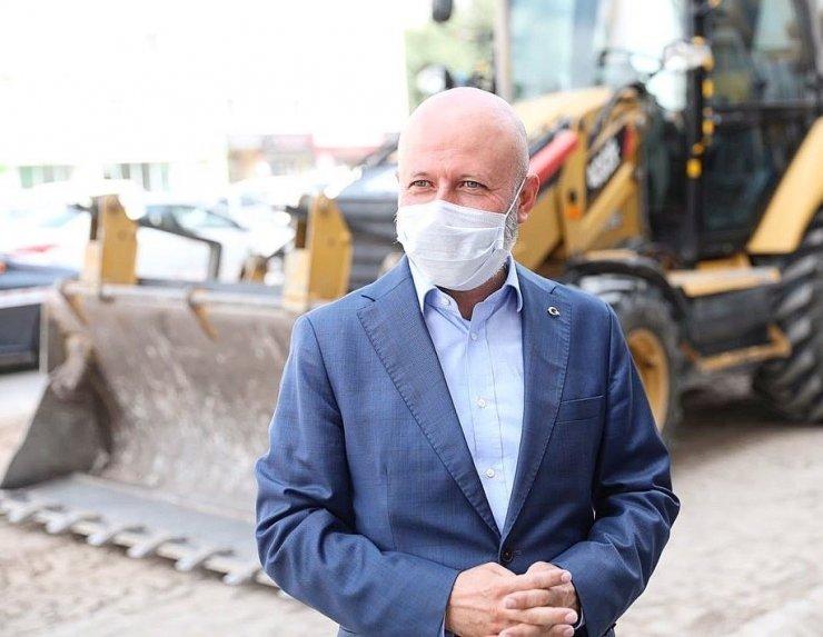 """Başkan Çolakbayrakdar: """"Hemşehrilerimin keyif alacağı yaşam alanları inşa ediyoruz"""""""