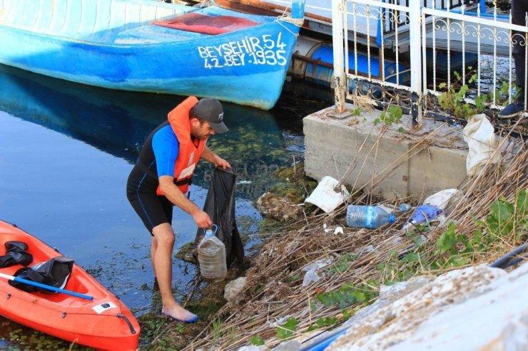 Beyşehir Gölü'nde ödüllü fotoğraf yarışması yapıldı