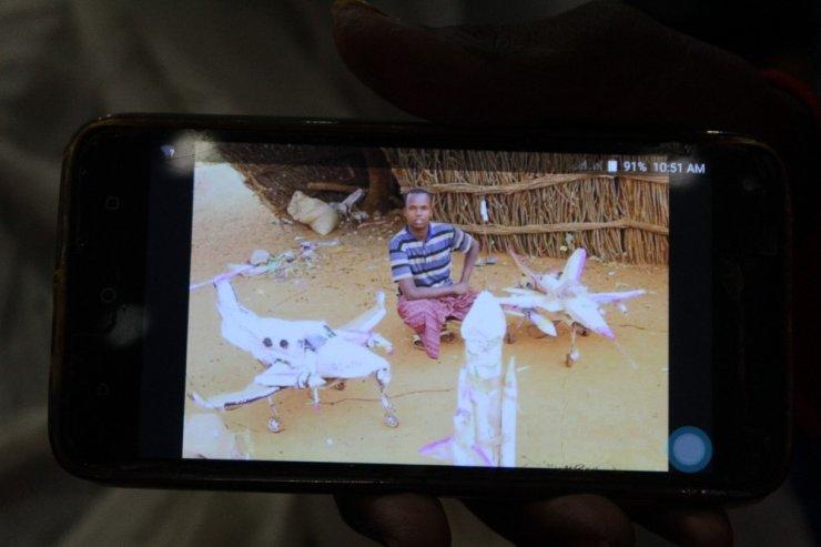 Somalili Guled Abdi Teknofest'te ilgi odağı oldu