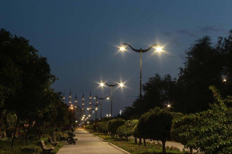 Merkez Park ışıl ışıl