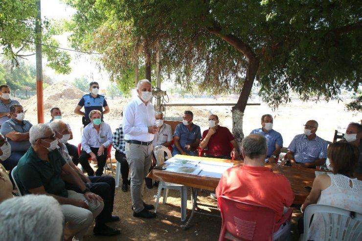 Akdeniz Belediyesi'nden muhtarlara destek