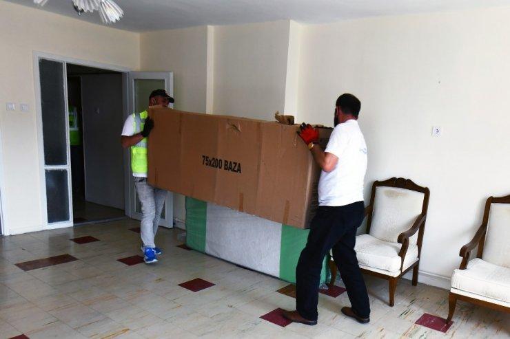 İhtiyaç sahibi vatandaşlar için ev eşyası alım ihalesi yapıldı