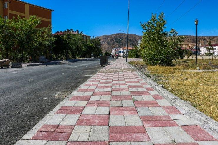 Bitlis Belediyesinden hummalı çalışma