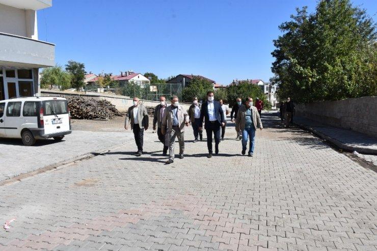 Başkan Geylani, mahallelerdeki çalışmaları denetledi