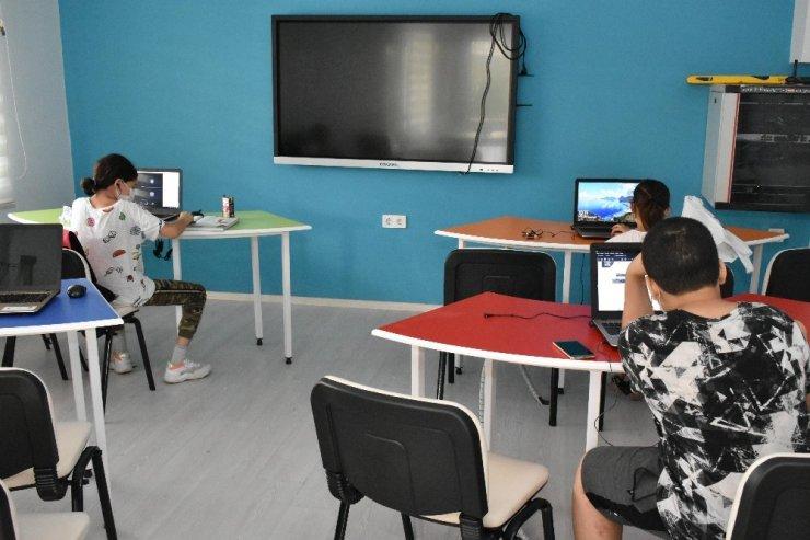 Balçova'da EBA Destek Merkezi açıldı