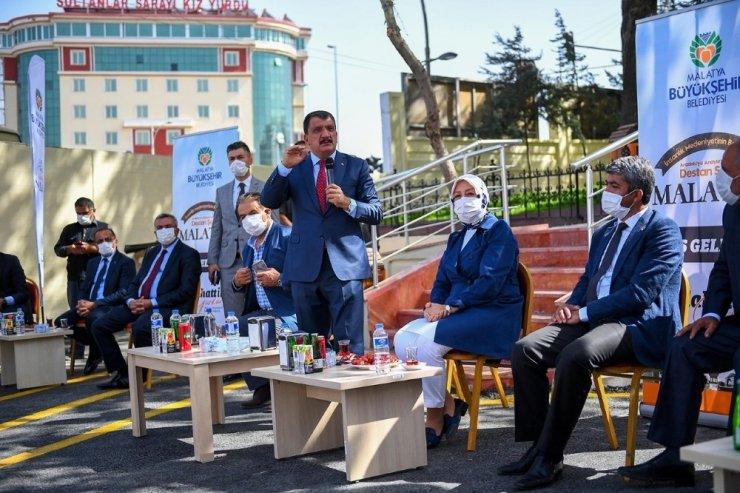 Malatya'da yeni Doğu Garajı törenle hizmete açıldı