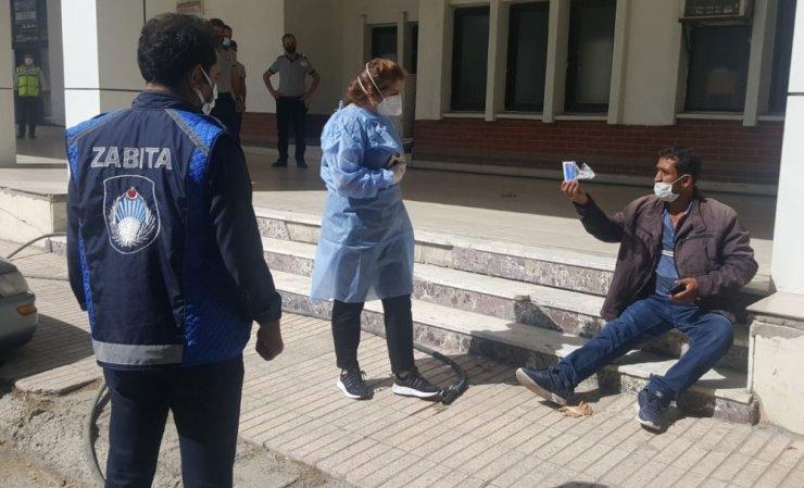 """Elazığ'da Covid'li şahıs terminalde """"HES"""" kodu sayesinde yakalandı"""