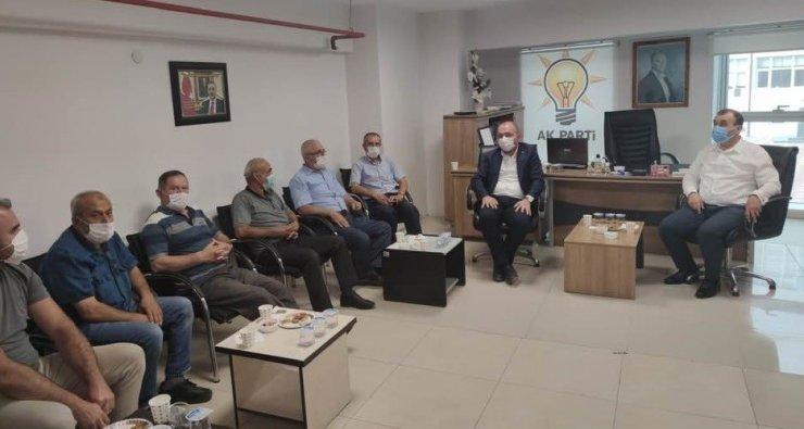 Başkan Karabıyık'tan ilçe başkanlarına 'hayırlı olsun' ziyareti