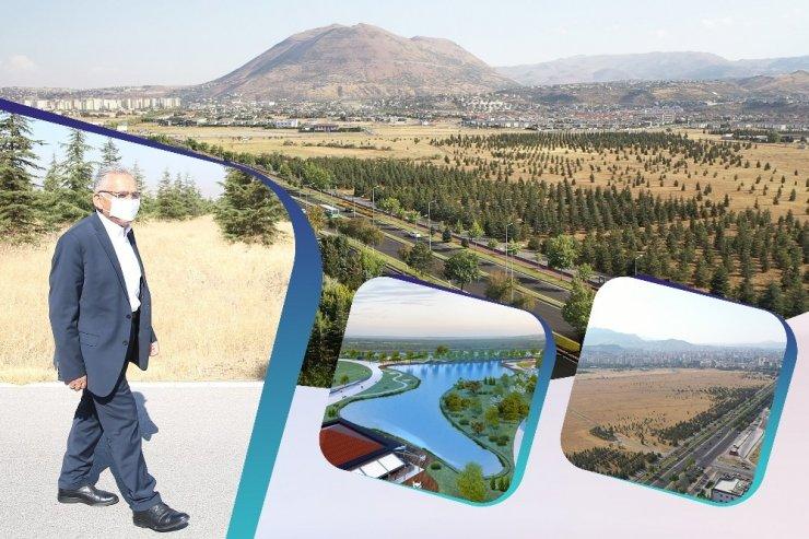 Recep Tayyip Erdoğan Millet Bahçesi'nde çalışmalar başladı