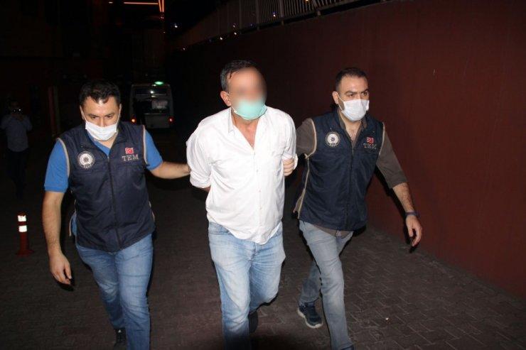 Kayseri'de sosyal medyada terör örgütünü öven şahıs gözaltına alındı