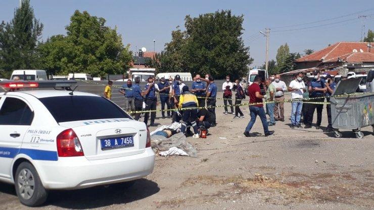 Kayseri'de yanan araçların yanında vurulan şahıs hayatını kaybetti
