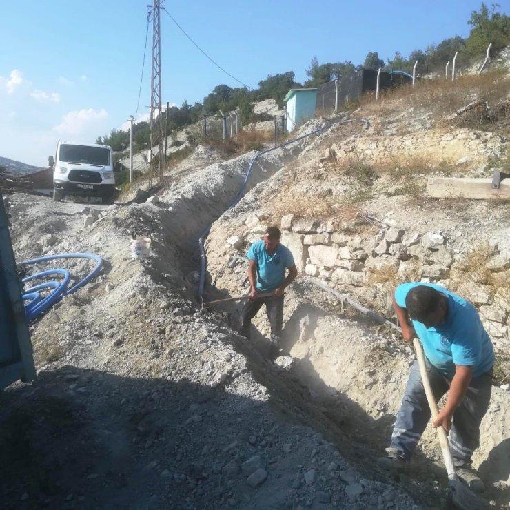 Gümele Mahallesinin su sıkıntısı sona eriyor