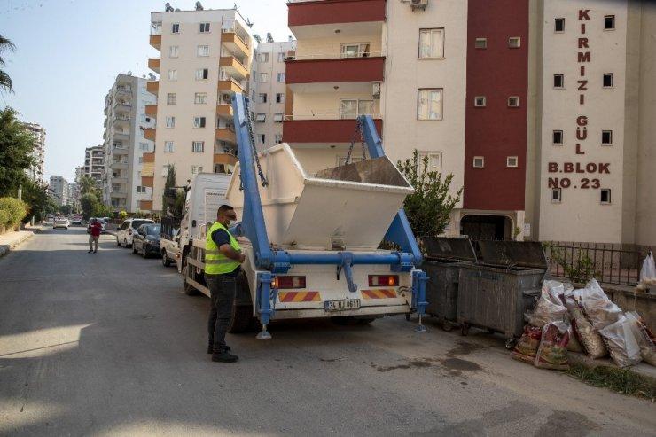 Mersin Büyükşehir Belediyesi hidrolift aracı aldı