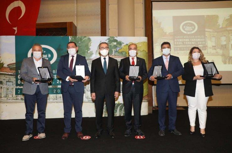 """Tarihî Kentler Birliği """"Süreklilik Ödülü"""" Mudanya'nın"""