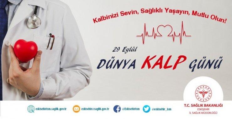Müdür Bilge, Dünya Kalp Günü'ne dikkat çekti