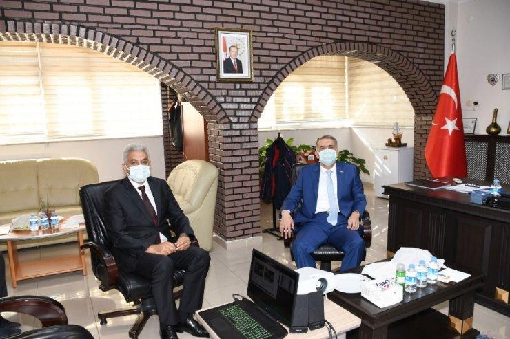 Vali Çuhadar, AFAD ve 112 acil çağrı merkezini inceledi