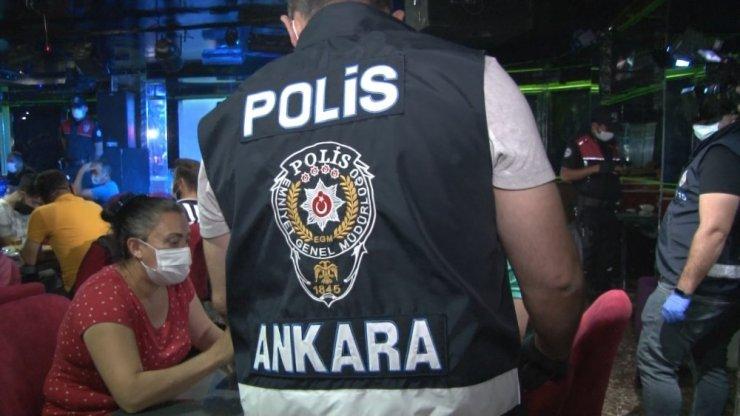 Başkent'te 750 polisin katılımıyla koronavirüs denetimi