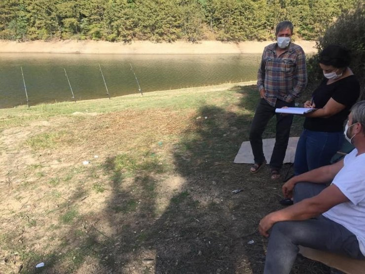 Bilecik'te su ürünleri ve balıkçılık denetimleri yapıldı