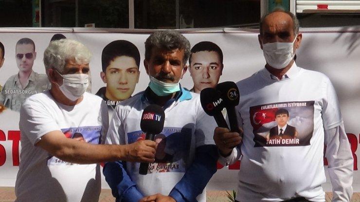 HDP önündeki ailelerin evlat nöbeti 391'inci gününde