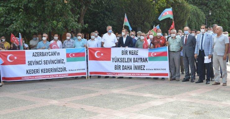 Kardeş ülke Azerbaycan'a Turgutlu'dan tam destek