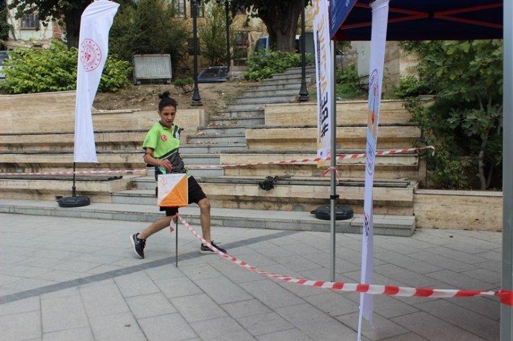 Düzce'de Oryantiring yarışması düzenlendi