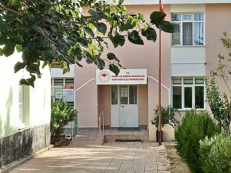 Günyüzü ilçesinde bir kamu kurumu geçici süre ile kapatıldı