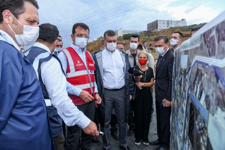Başkan İmamoğlu ve Bozkurt projeleri inceledi