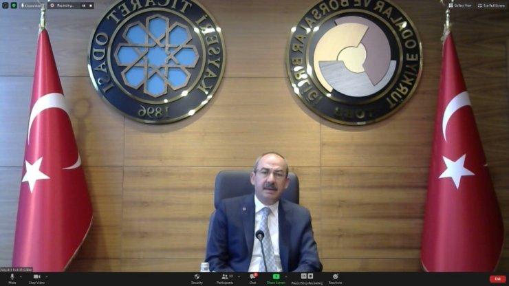 """KTO Başkanı Gülsoy: """"İnşallah Karadeniz'de bulduğumuz gaz biran önce iç piyasaya verilir de doğalgaz fiyatları düşer"""""""